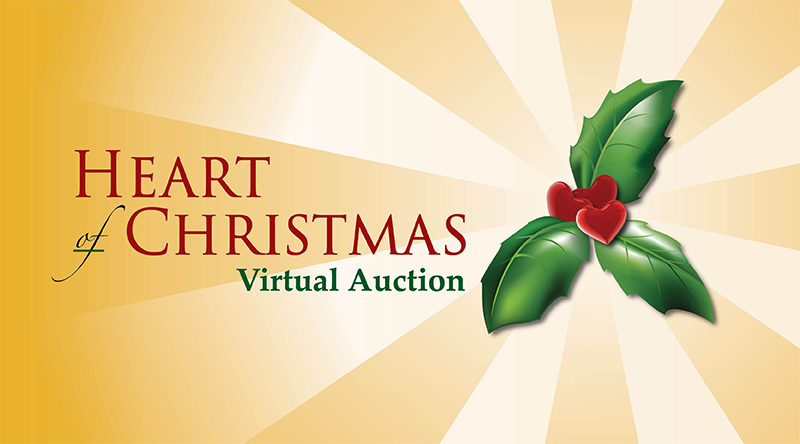 Heart of Christmas Virtual Auction