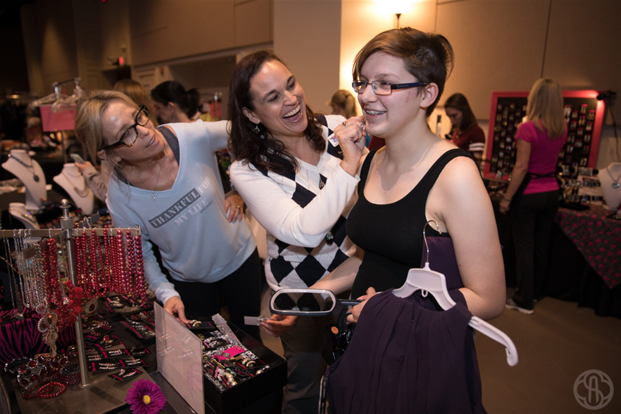 32210becae46 Girls from UME Prep shop at Prom Closet, which has become a tradition for  the school.